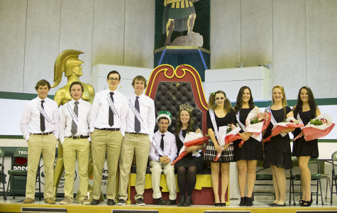 2015 Homecoming Court and the Four Pillars of Kelly Walsh