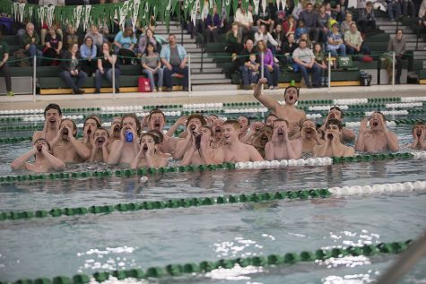 KW men's swim team prepares for state