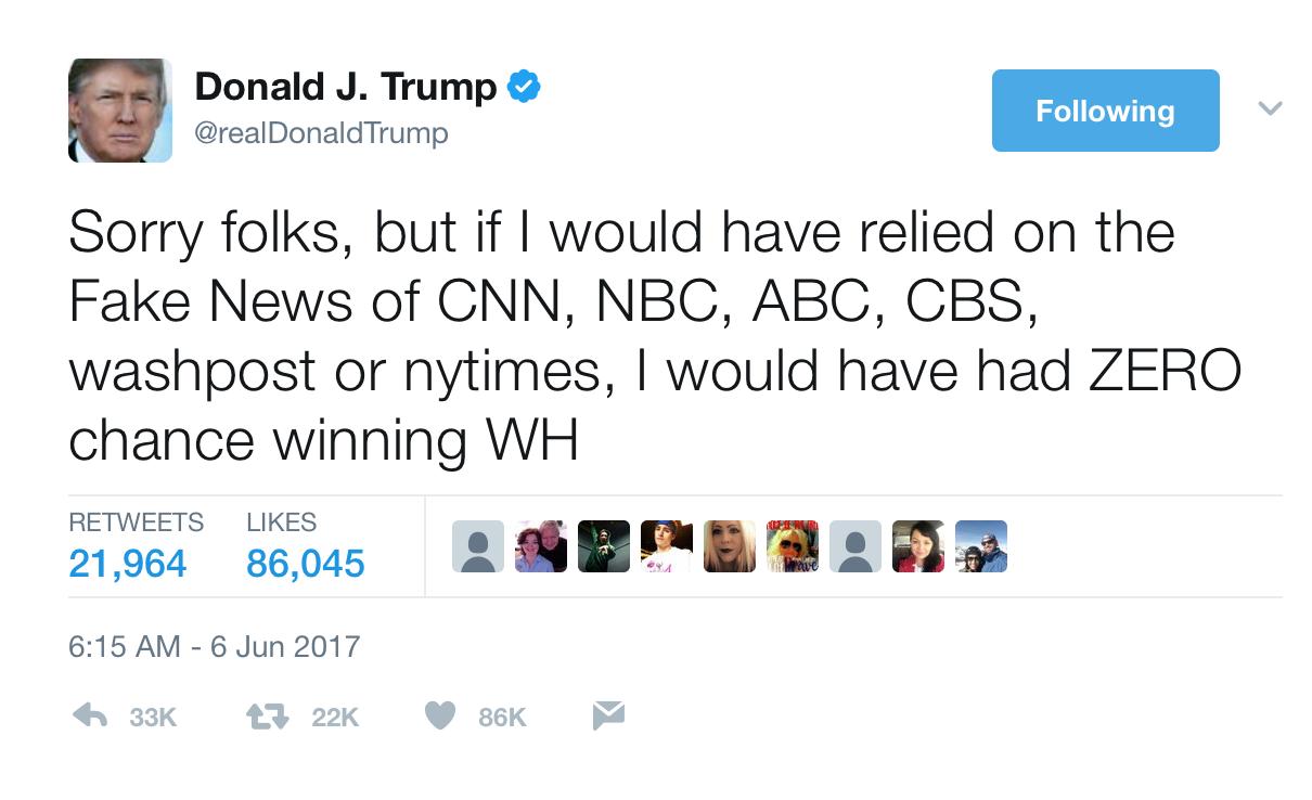 Trump's Social Media Presence