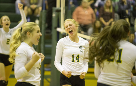 Lady Trojan Volleyball Defeats Green River