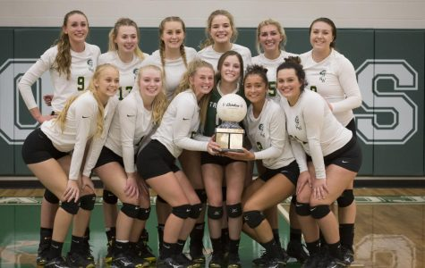 Winning In Three-Volleybowl Trophy Comes Home
