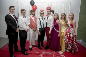 Carlstrom  Becomes First Male Prom Queen in School History