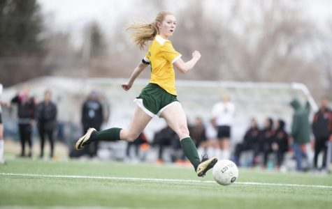 Making Her Mark: Klungness Breaks Career Goal Record
