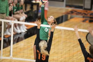Profile: Standout Kelly Walsh Volleyball player Corin Carruth commits to UW